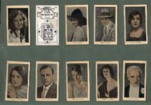 Tobacco cigarette cards Film Favourites 1928 , Buster Keaton,